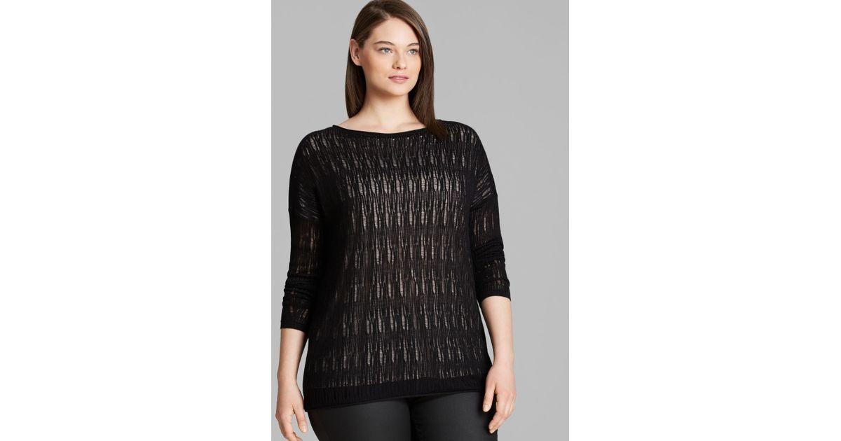 Marina Rinaldi Plus Alessia Sweater In Black Lyst
