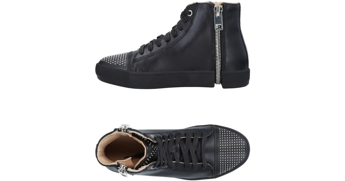 Diesel High Tops Sneakers In Black Lyst