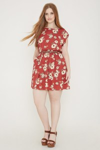 Plus Size Floral Dresses