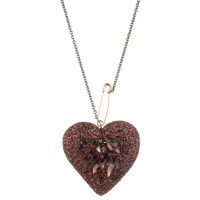 Lyst - Alexis bittar Double Sided Encrusted Black Cherry ...