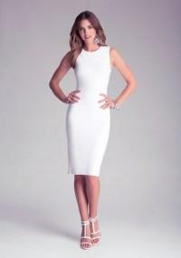 WHITE BEBE DRESS - zilnasa Waker