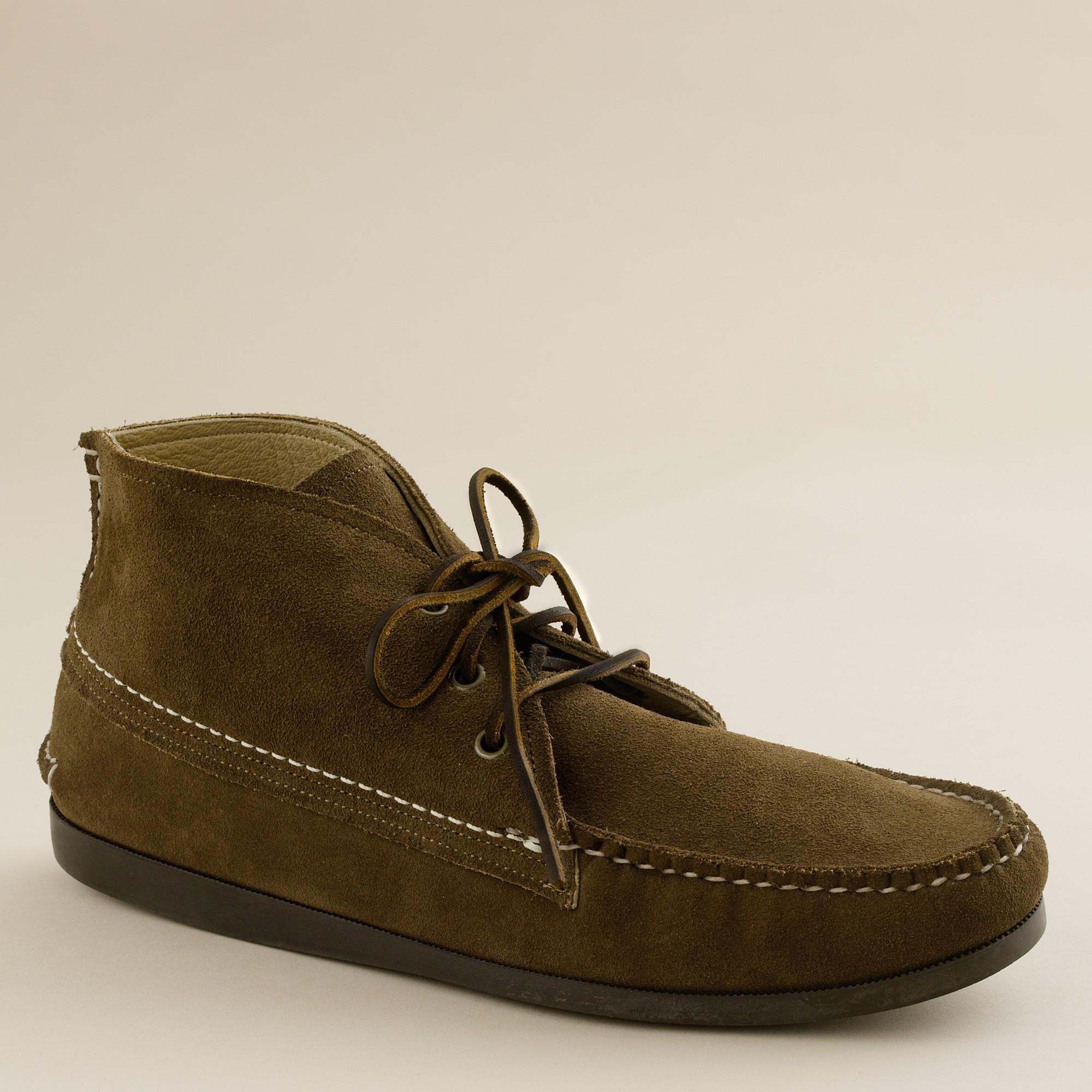Jcrew Mens Quoddyr Suede Chukka Boots In Brown For Men