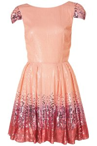 Lyst - Topshop Ombre Sequin Prom Dress By Dress Up Topshop ...