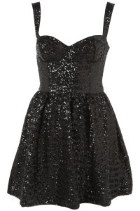 Lyst - Topshop Sequin Strappy Prom Dress in Black