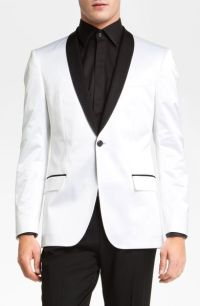 Boss Black Hyatt Shawl Collar Dinner Jacket in White for ...