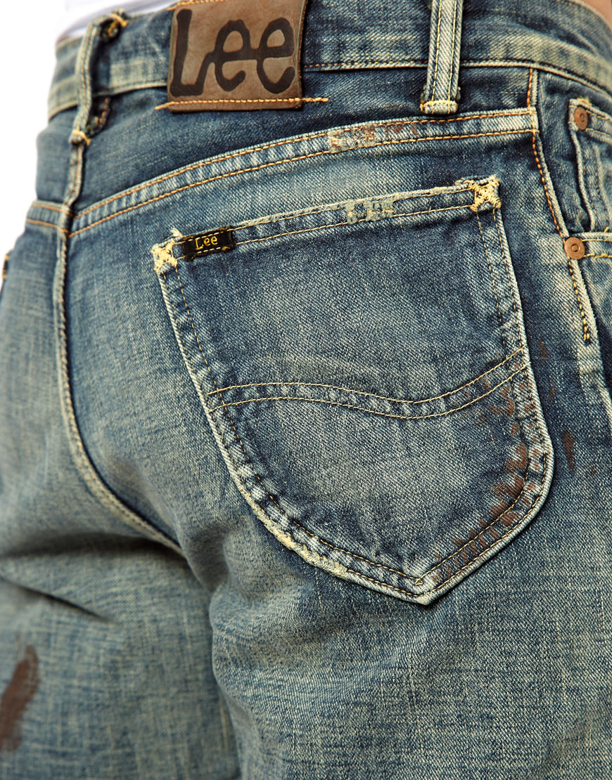 Lyst Maui Sons Lee Jeans Rider 101z In Blue For Men
