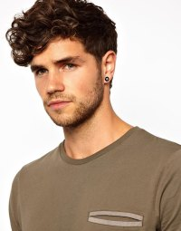 Lyst - Asos Earrings with 8 Balls in Black for Men
