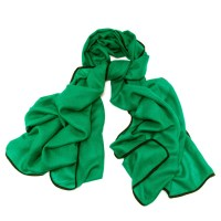 Black.co.uk Fulton Green And Black Scarf - Cashmere And ...