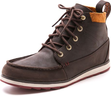 Tretorn Holdyn Boots In Brown For Men Chocolate Brown Lyst