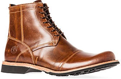 Timberland The Earthkeepers City 6quot Zip Boot In Brown For