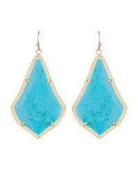 Kendra scott Alexandra Earrings in Blue | Lyst