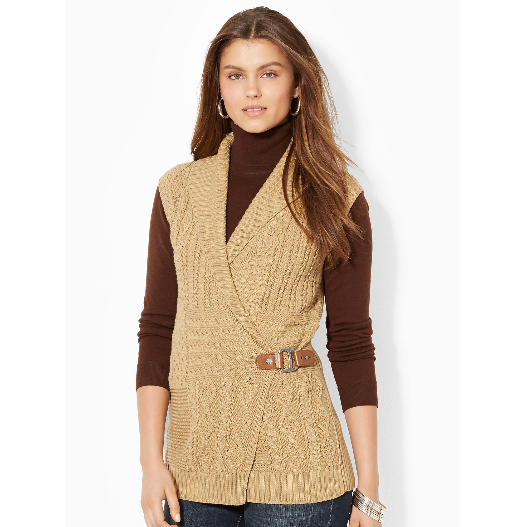 Ladies Shawl Sweater Cardigan Sweater Vest For Women Baggage Clothing