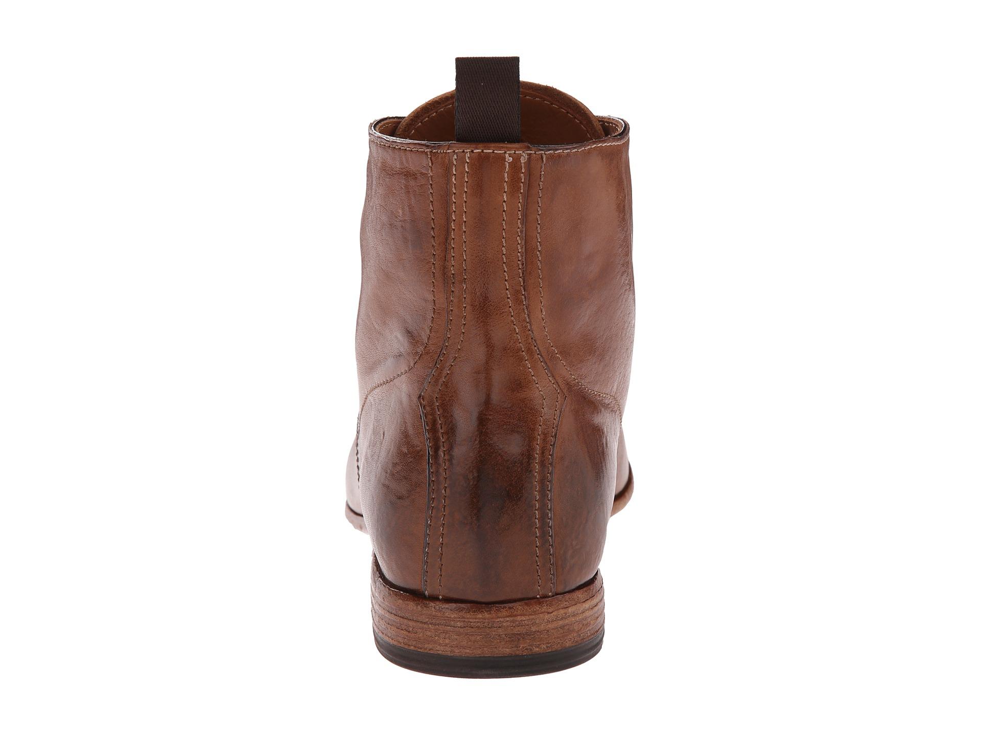 Alexander Mcqueen Washedleather Captoe Boots Mr