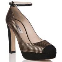 Lyst - L.K.Bennett Sally Platform Ankle Strap Court Shoes ...
