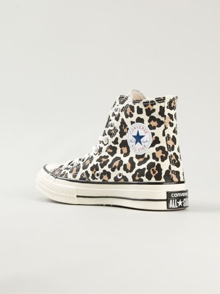 Hogan Shoes Sale Converse 'chuck Taylor' Leopard Print Sneakers In Brown