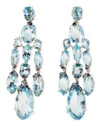 Lyst - Alexis bittar fine Blue Topaz/Quartz/Sapphire ...