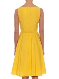 Max mara studio Asiago Dress in Yellow | Lyst