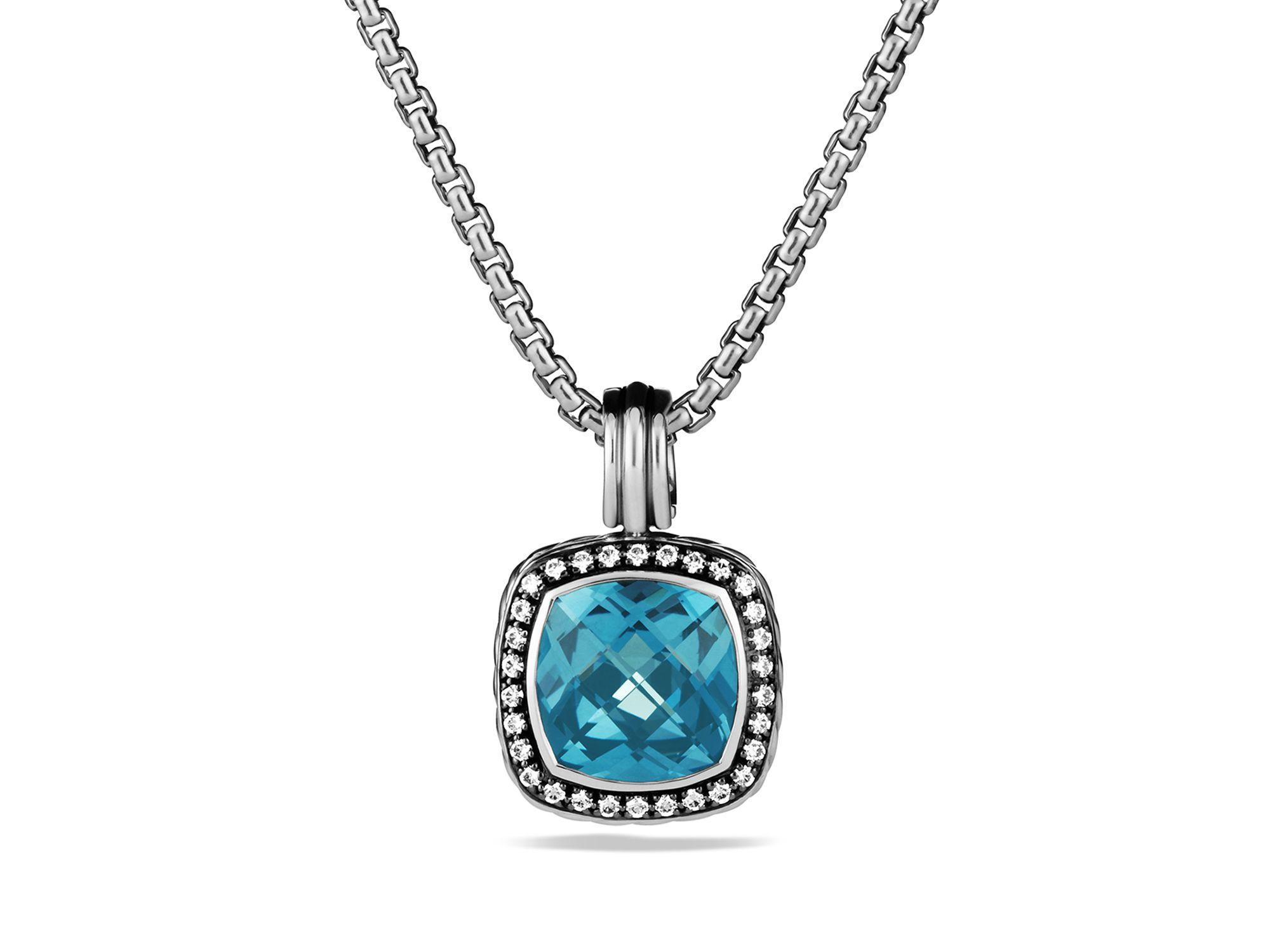 David yurman pendant necklace traumspuren saveenlarge lyst david yurman starburst pendant aloadofball Gallery