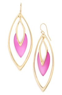 Alexis bittar 'lucite' Orbiting Drop Earrings - Hot Pink ...