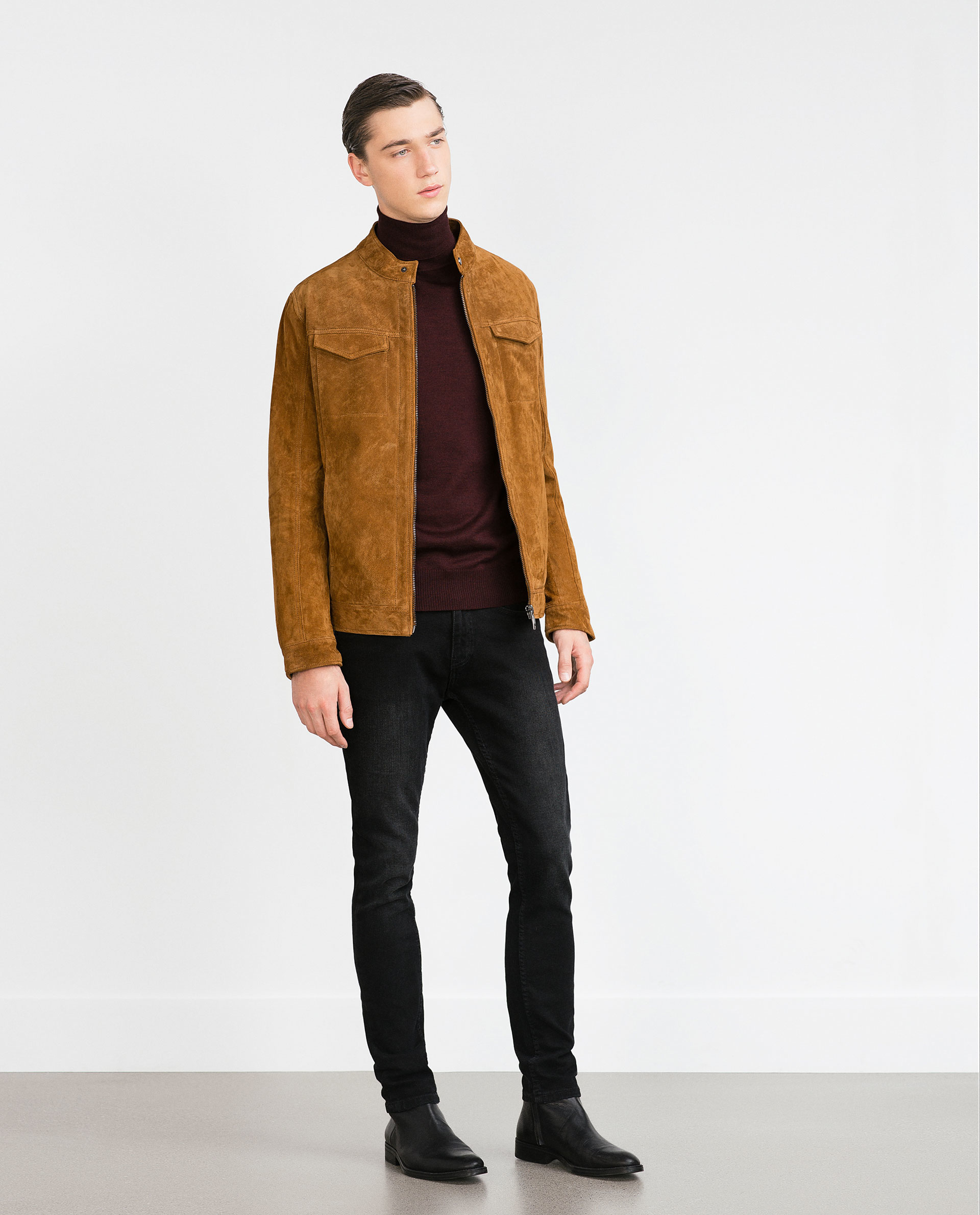 Mens jackets and coats zara