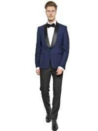 Lyst - Alexander Mcqueen Shawl Collar Wool Tuxedo Jacket ...