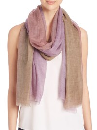 Bajra Leno Ombre Heather Scarf in Pink | Lyst