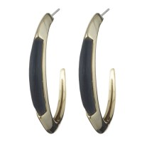 Alexis bittar Lucite Crescent Hoop Earring You Might Also ...