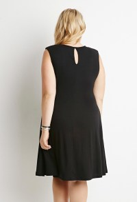 Forever 21 Plus Size Classic Sheath Dress in Black | Lyst