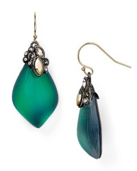 Lyst - Alexis Bittar Crystal Lace Capped Lucite Earrings ...