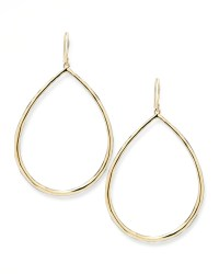 Ippolita Wire Teardrop Hoop Earrings in Metallic | Lyst