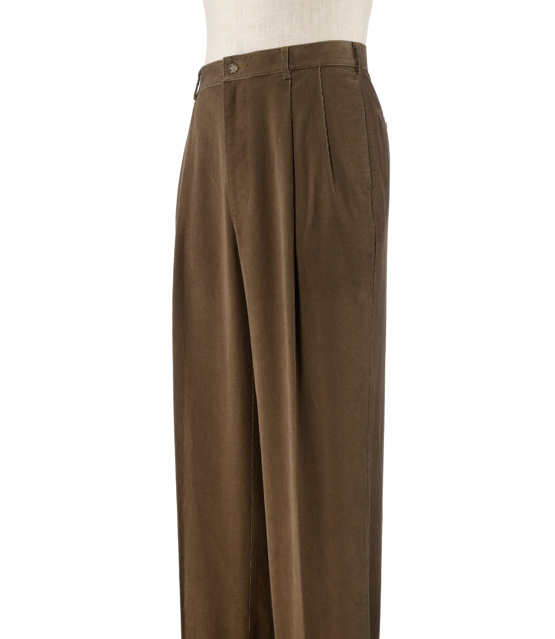 Bank Corduroy Jos A Bank Executive Traditional Fit Pleated Corduroy