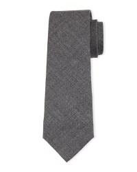 Lyst - Brunello Cucinelli Wool Tie in Gray for Men