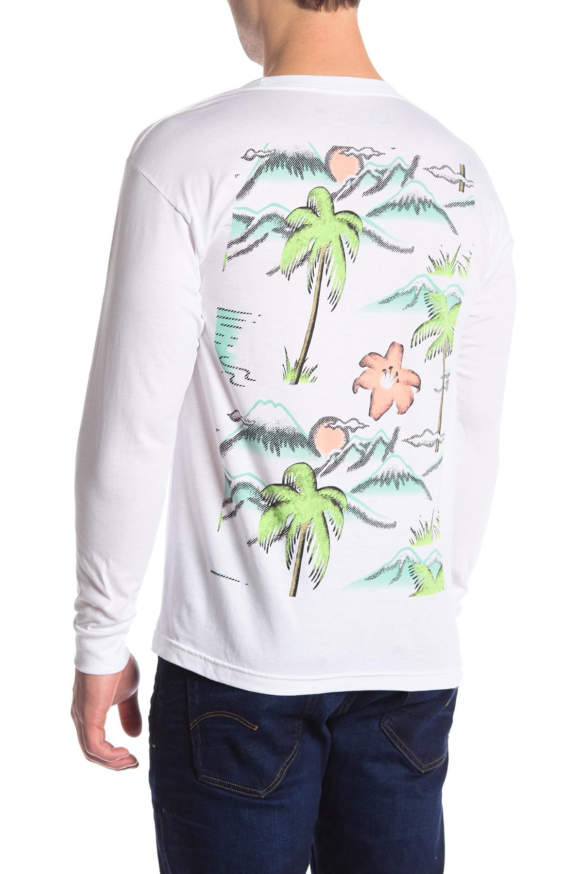 Winter Tee Lyst Neff Winter Vacay Long Sleeve Tee In White For Men