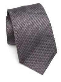 Kiton Knit Formal Silk Tie in Gray for Men | Lyst