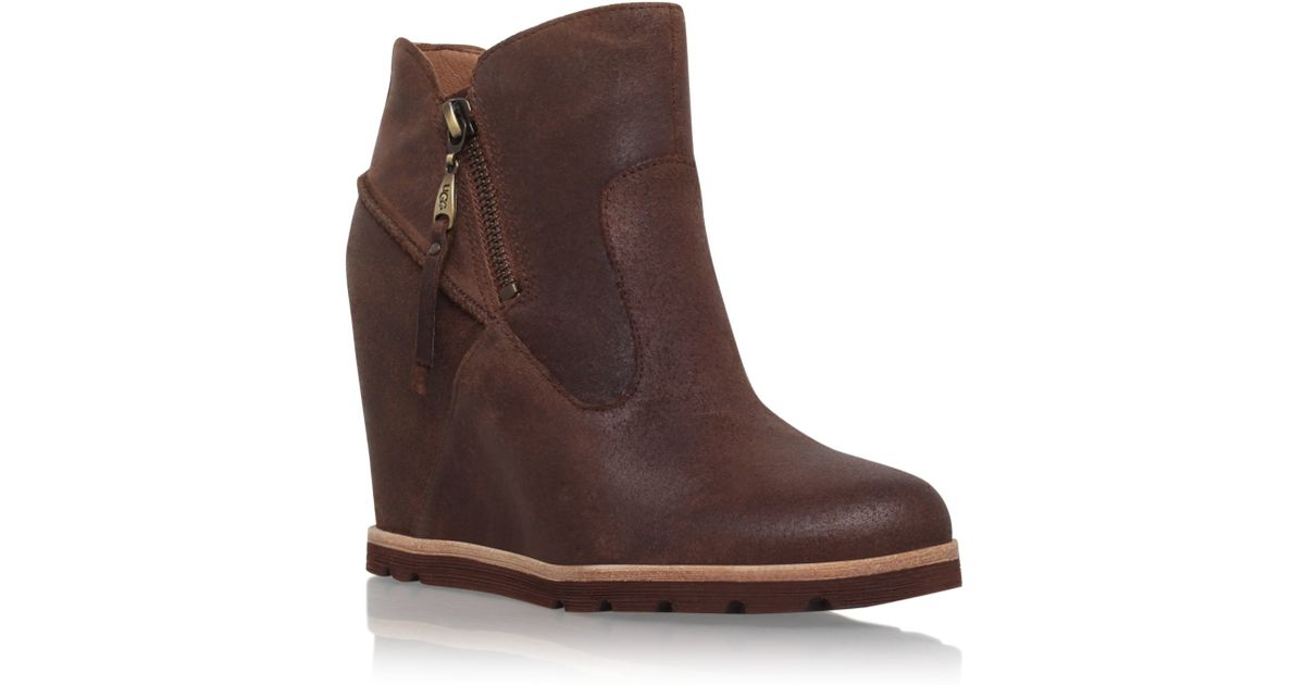 Ugg Ankle Boots With Heel