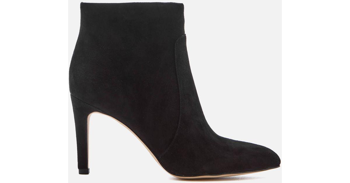 Sam Edelman Women39s Olette Suede Shoe Boots In Black Lyst