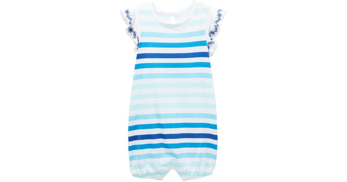 Lyst - Joe Fresh Gradient Romper (baby Girls) in Blue