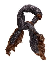 Lyst - Yigal Azroul Scarf in Gray for Men