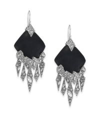 Alexis bittar Lucite Glacial Crystal Chandelier Earrings ...