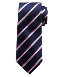Banana republic Stripe Tie in Pink for Men (Pop pink)   Lyst