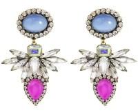 Loren hope Tessie Earrings Bloom in Blue   Lyst