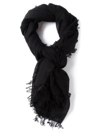 Lyst - Ann Demeulemeester Pashmina Scarf in Black for Men