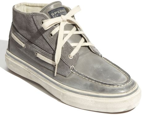Sperry Top Sider Bahama Chukka Boot In Gray For Men Grey