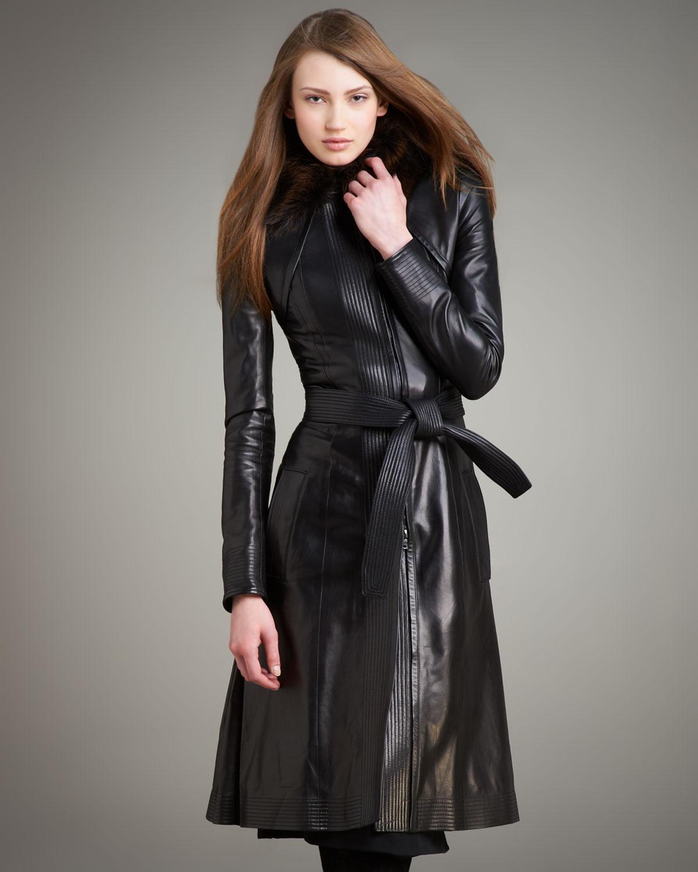 23 Black Leather Coats Ideas Black Leather Coat Long Leather Coat Leather Trench Coat