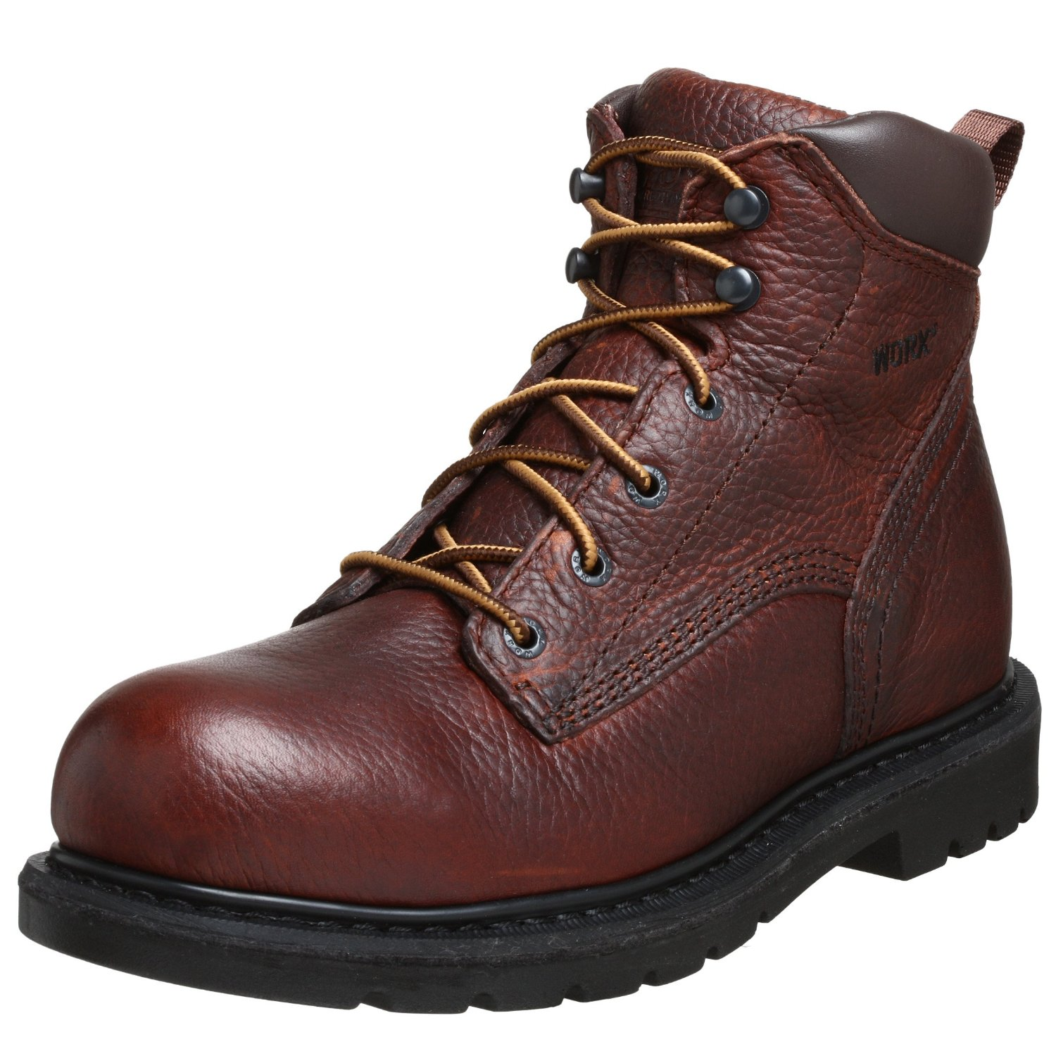 Red Wing Mens 6 Unlined Steel Toe Work Boot In Brown For