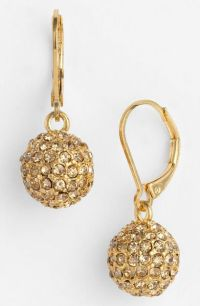 Anne Klein Astra Fireball Drop Earrings in Gold (gold ...