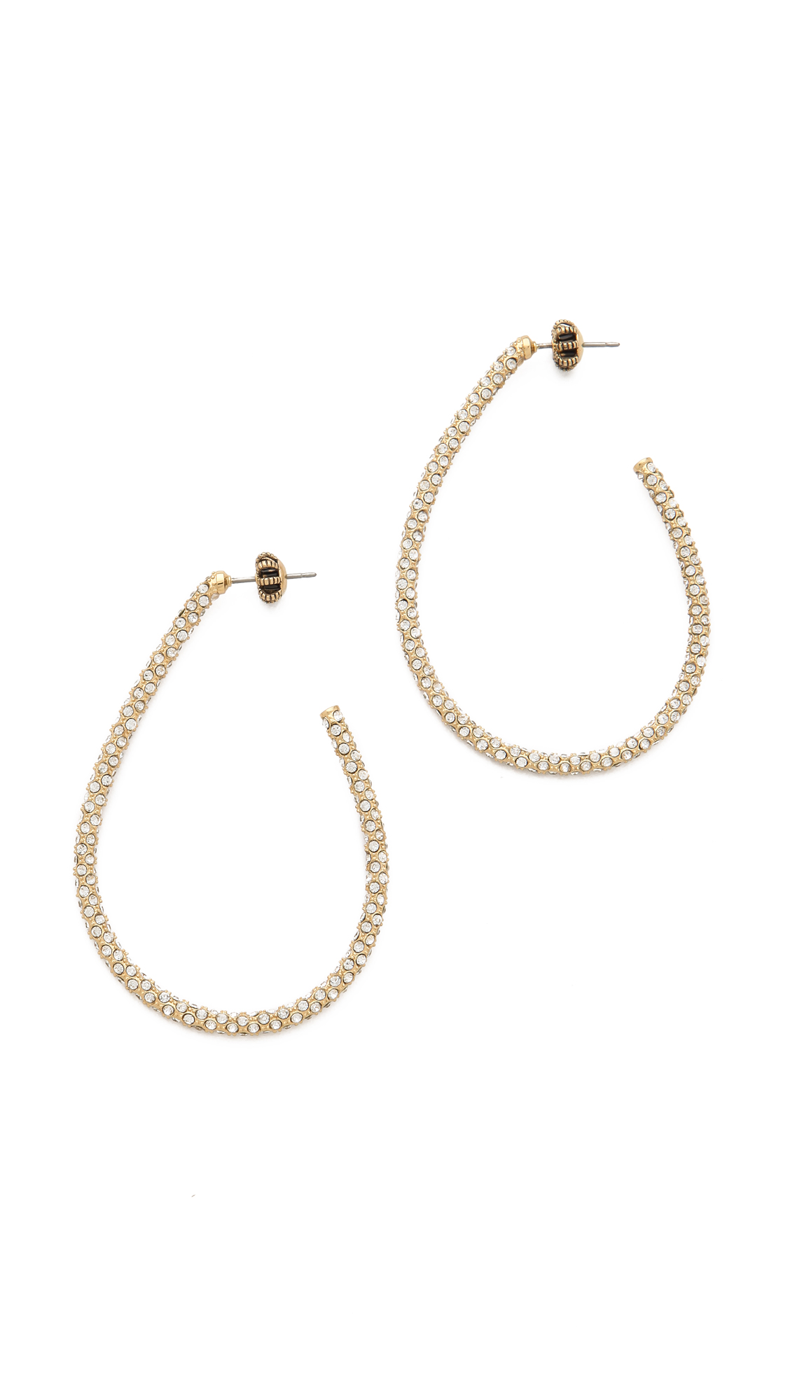 Pavé La Couture | Juicy Couture Pave Leopard Stud Earring In Gold Lyst