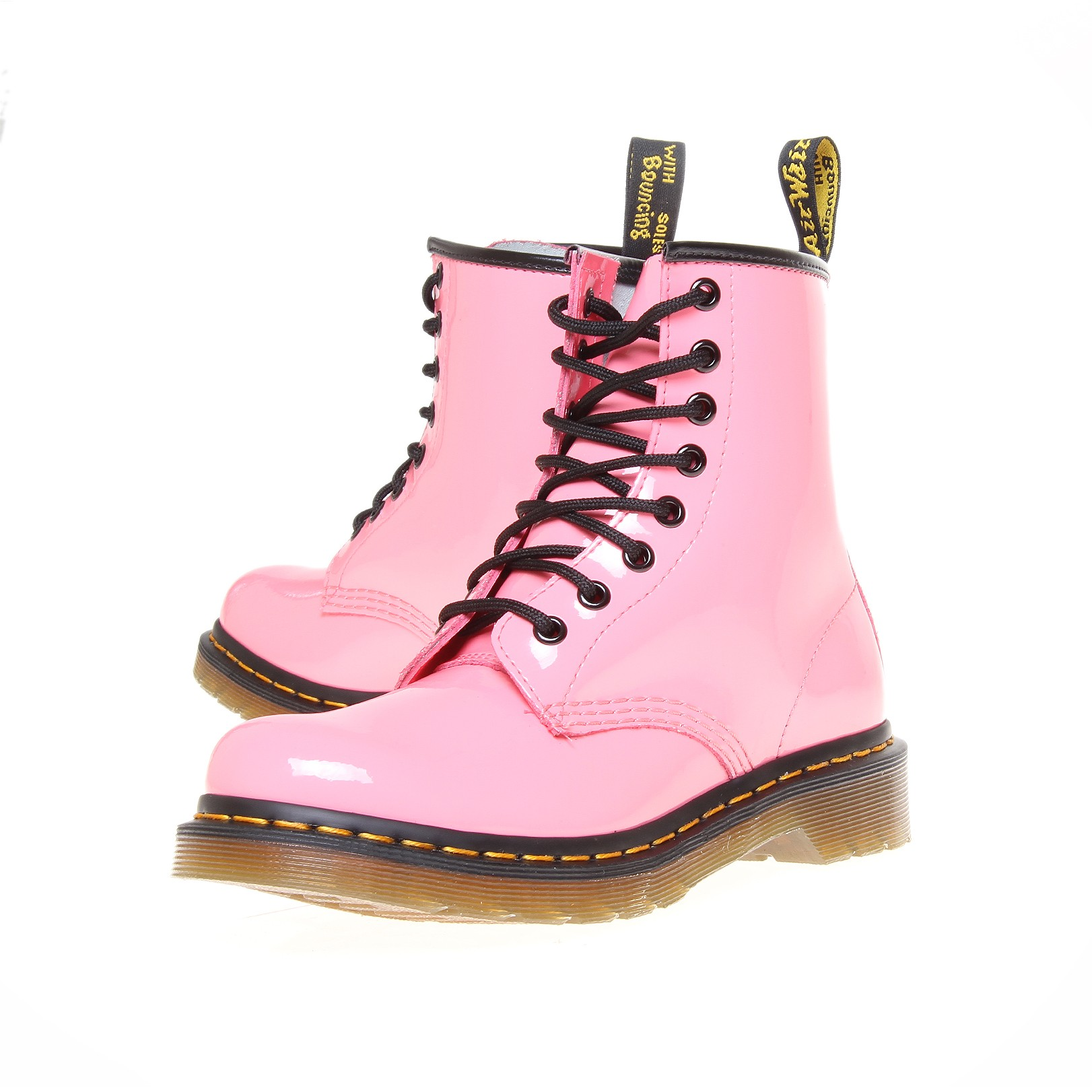 Dr Martens Classic 8 In Pink For Men Lyst