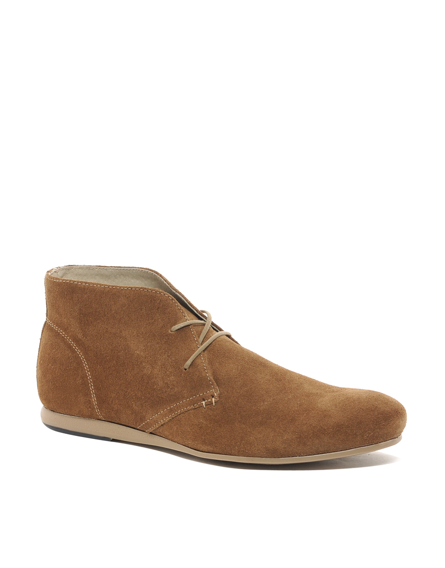Asos Chukka Boots In Suede In Brown For Men Tansuede Lyst