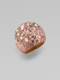 Lyst - Alexis Bittar Rose Dust Dome Ring in Pink